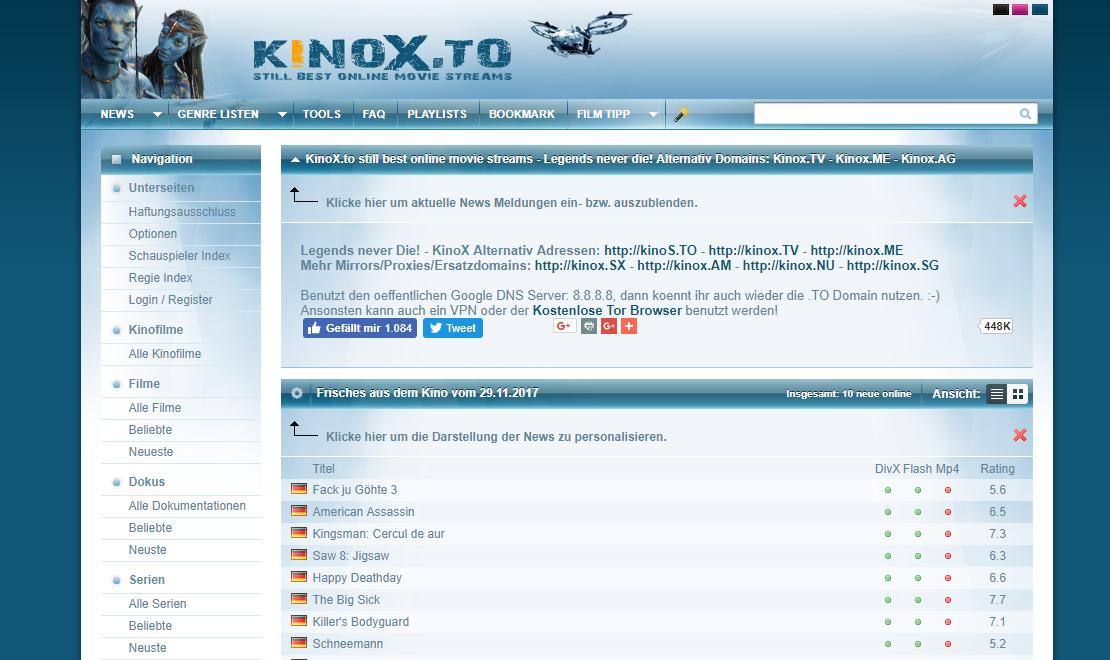 Kinox.to-Abmahnung
